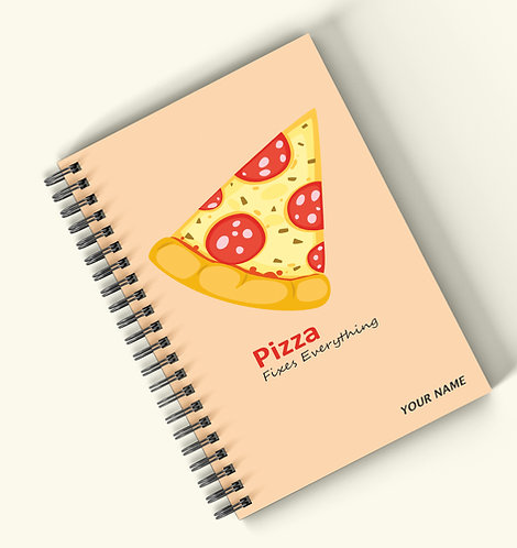 Personalized Hardbound Wiro / Spiral NoteBook / Diary (NBHB Wiro 005)