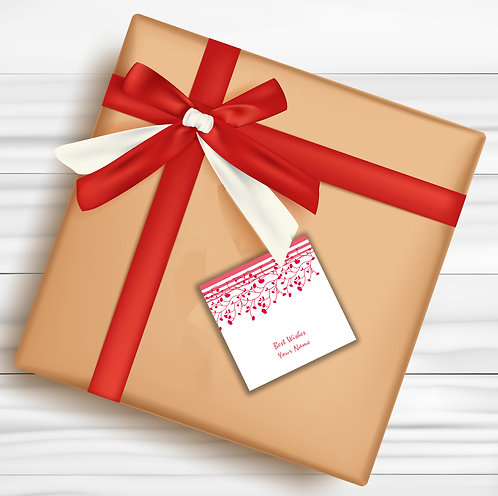 Gift Tags (Pack of 30 / 60)  (GT 03)
