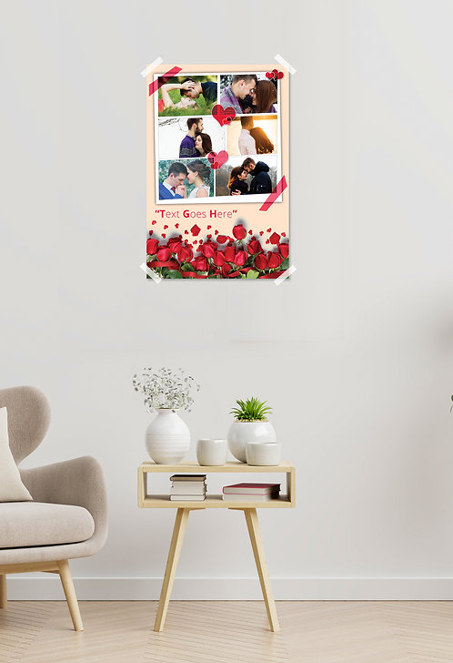 Personalized Printed Photo Poster / Collage