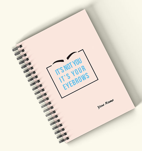 Personalized Hardbound Wiro / Spiral NoteBook / Diary (NBHB Wiro 021)