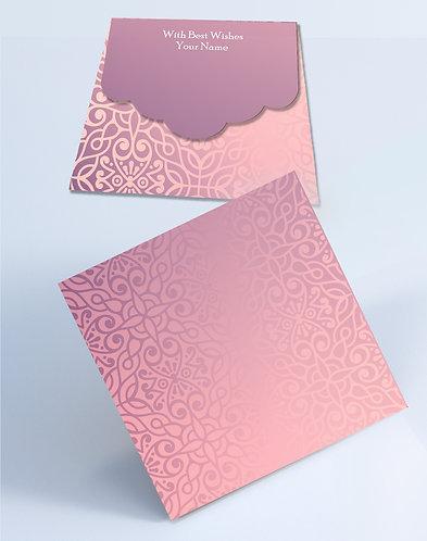 Customized Square Shagun Envelopes (SESmall 09)