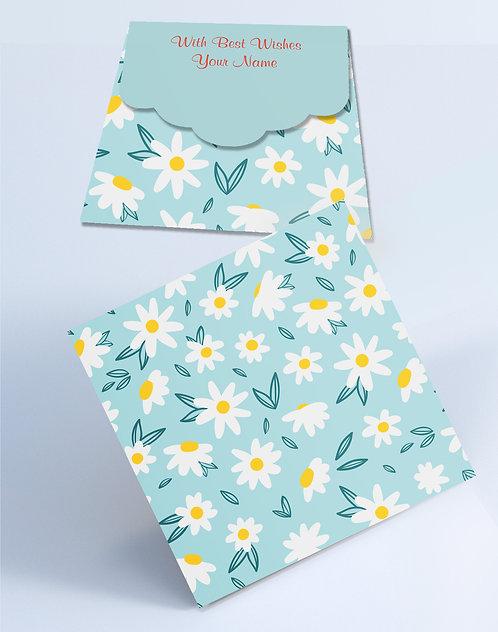 Customized Square Shagun Envelopes (SESmall 18)