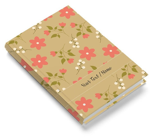 Personalized Pasted Board Notebook / Diary (NBHB 068)