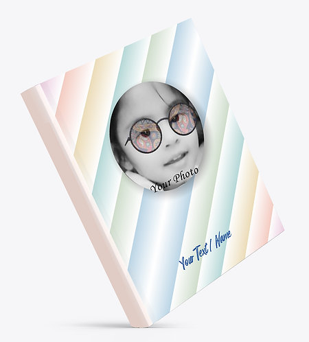 Personalized Hardbound Large NoteBook / Diary (NBHB L 008)