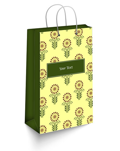Personalized Paper Gift Bags (SBAG 009)
