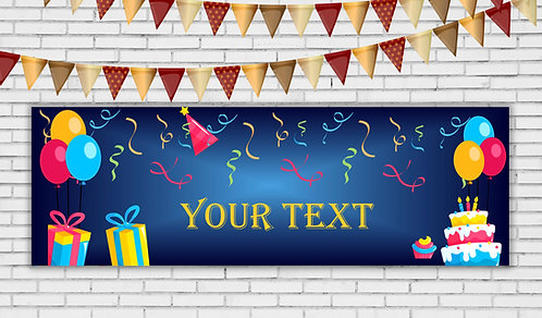 Personalized Banner (Ban 004)