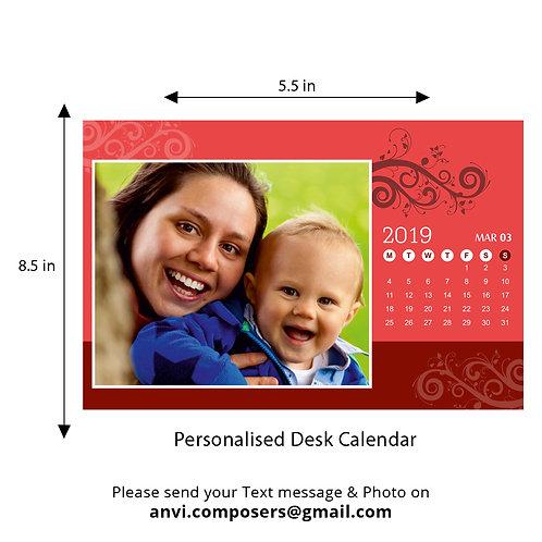 Personalized Desk Calendar 22