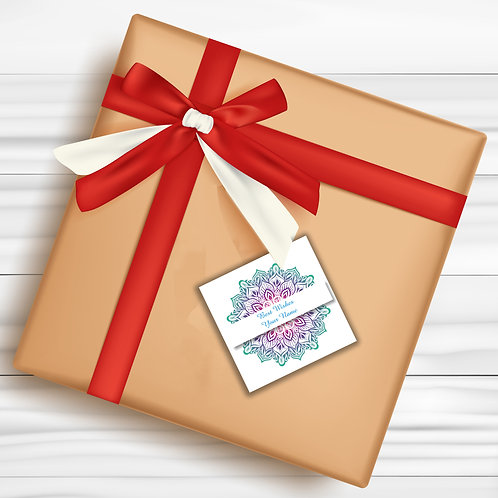 Gift Tags (Pack of 30 / 60)  (GT 28)