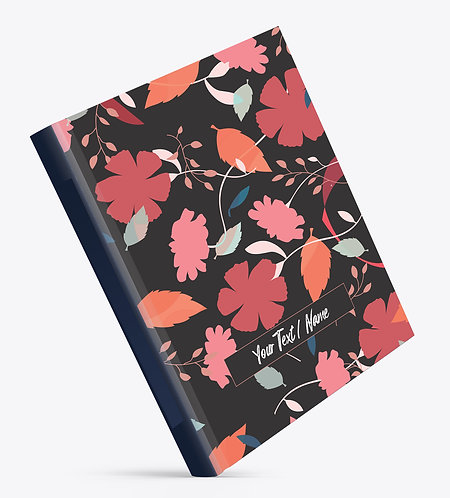 Personalized Hardbound Large NoteBook / Diary (NBHB L 001)