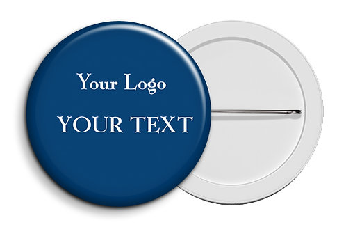 Personalized Button Badges (Pack of 20) (ButnBadge 027)
