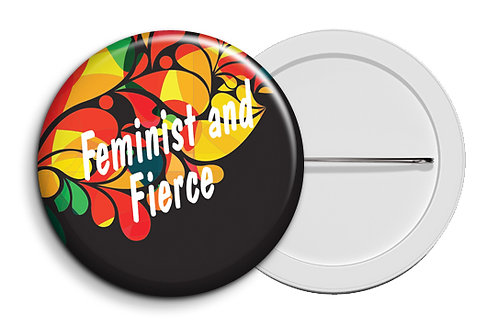 Personalized Button Badges (Pack of 20) (ButnBadge 024)