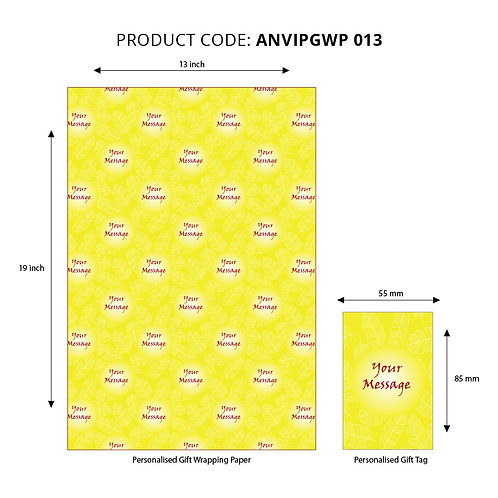 Wrapping Paper 013 (Pack of 5)