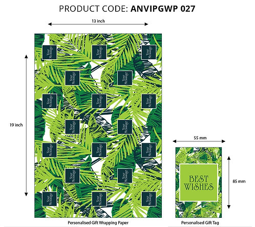 Wrapping Paper 027 (Pack of 5)