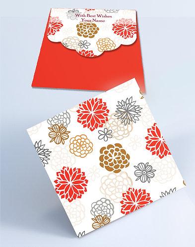 Customized Square Shagun Envelopes (SESmall 03)