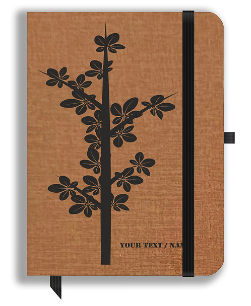 Personalized Leather NoteBook / Diary (NBLTHR 001-8)