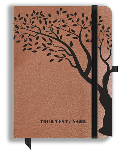 Personalized Leather NoteBook / Diary (NBLTHR 001-6A)