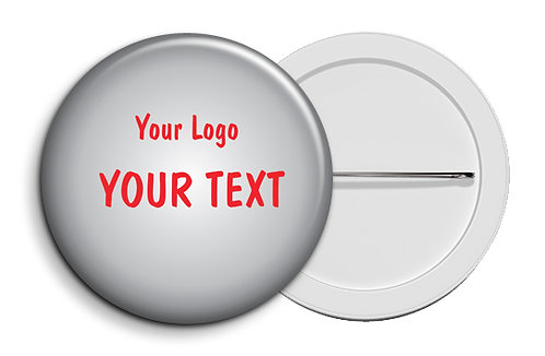 Personalized Button Badges (Pack of 20) (ButnBadge 035)