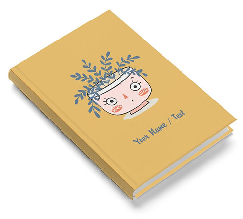 Personalized Pasted Board Notebook / Diary (NBHB 062)