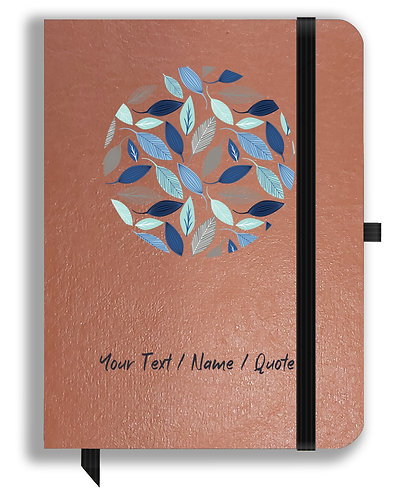 Personalized Leather NoteBook / Diary (NBLTHR 029)