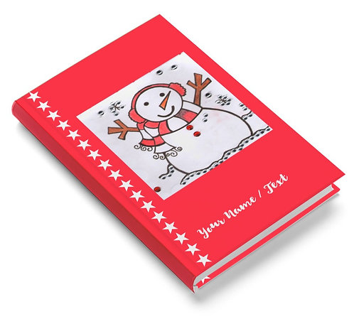 Personalized Pasted Board Notebook / Diary (NBHB 057)
