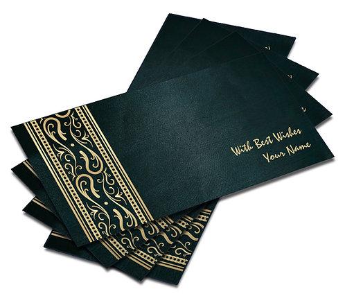 Shagun Envelope on Blue Satin paper(Pack of 10) SESATIN BLUE 005