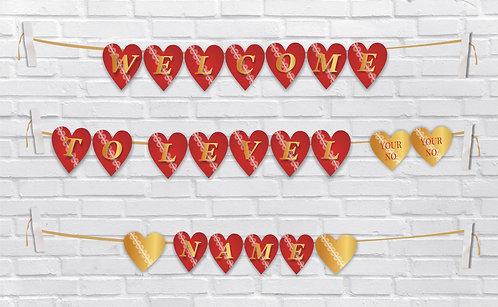 Birthday Bunting Banners (BBBan 06)
