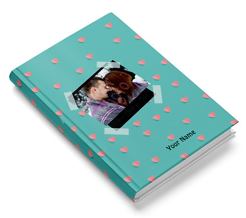 Personalized Hardbound Pasted Board NoteBook / Diary (NBHB 019)