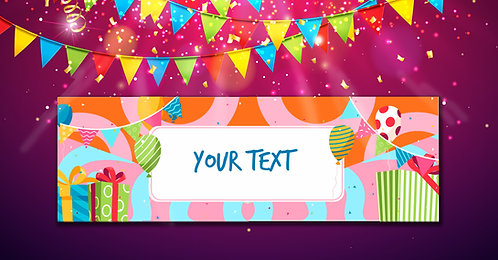 Personalized Banner (Ban 002)