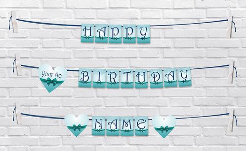 Birthday Bunting Banners (BBBan 11)