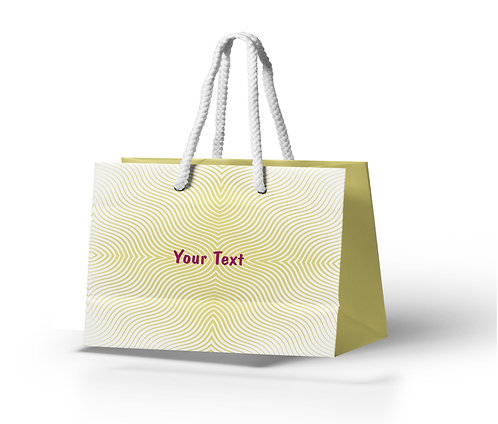 Personalized Paper Gift Bags (BBAG 010)