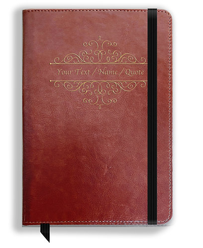 Personalized Leather NoteBook / Diary (NBLTHR 035)