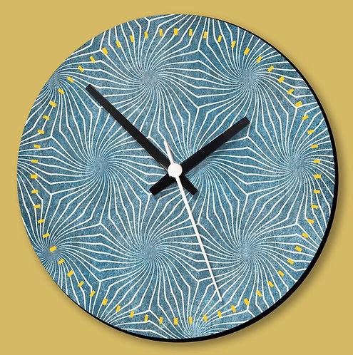 Wooden Printed Wall Clock (05)