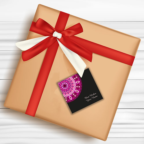 Gift Tags (Pack of 30 / 60)  (GT 15)