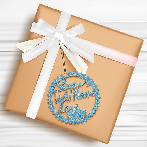 Gift Tags (Pack of 4 / 10)  (GT SBL GLTR 03)