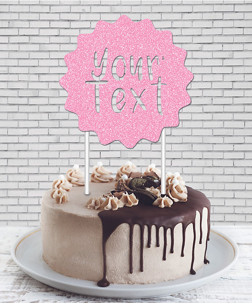 Cake Topper (CT Baby Pink 01)