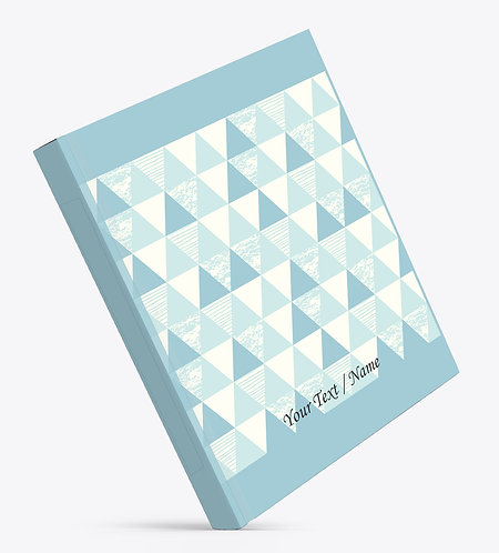 Personalized Hardbound Large NoteBook / Diary (NBHB L 004)