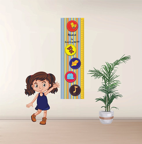 Personalized Kids / Children Growth / Height Chart