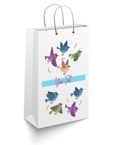 Personalized Paper Gift Bags (RBAG 004)