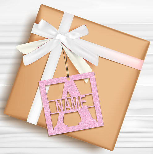 Gift Tags (Pack of 4 / 10)  (GT BPINK GLTR 04)