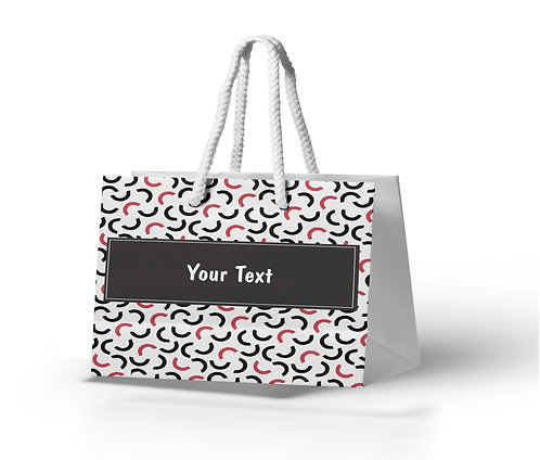 Personalized Paper Gift Bags (BBAG 011)