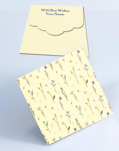 Customized Square Shagun Envelopes (SESmall 15)