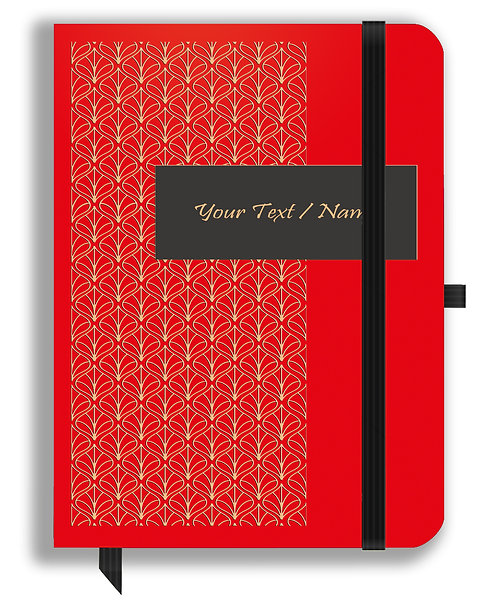 Personalized Leather NoteBook / Diary (NBLTHR 001-12)
