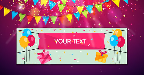 Personalized Banner (Ban 001)