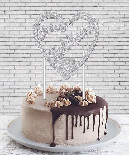 Cake Topper (CT Silver 02)