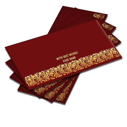 Shagun Envelopes - Golden Foil (Pack of 10)