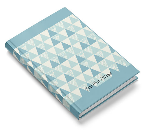 Personalized Hardbound Pasted Board NoteBook / Diary (NBHB 034)