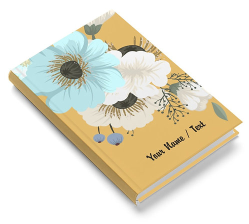 Personalized Pasted Board Notebook / Diary (NBHB 063)