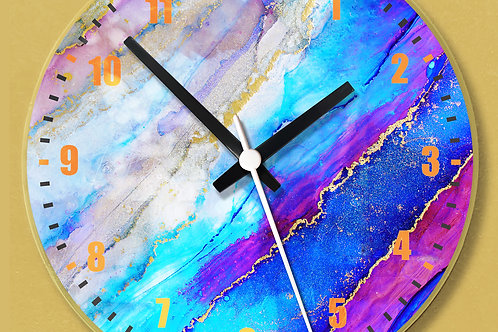 Acrylic Wall Clock (01)