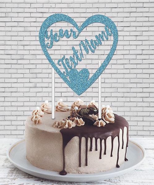 Cake Topper (CT Sky Blue 02)