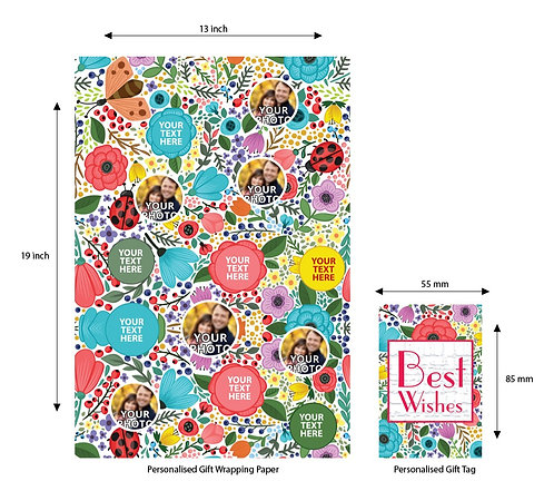 Wrapping Paper 035 (Pack of 5)